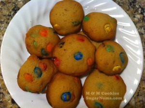 M&M Cookies #SugarNomsTV