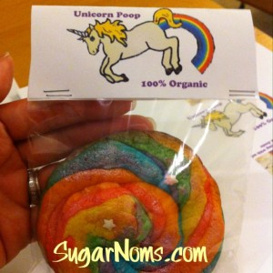 Unicorn Poop Cookies #SugarNomsTV