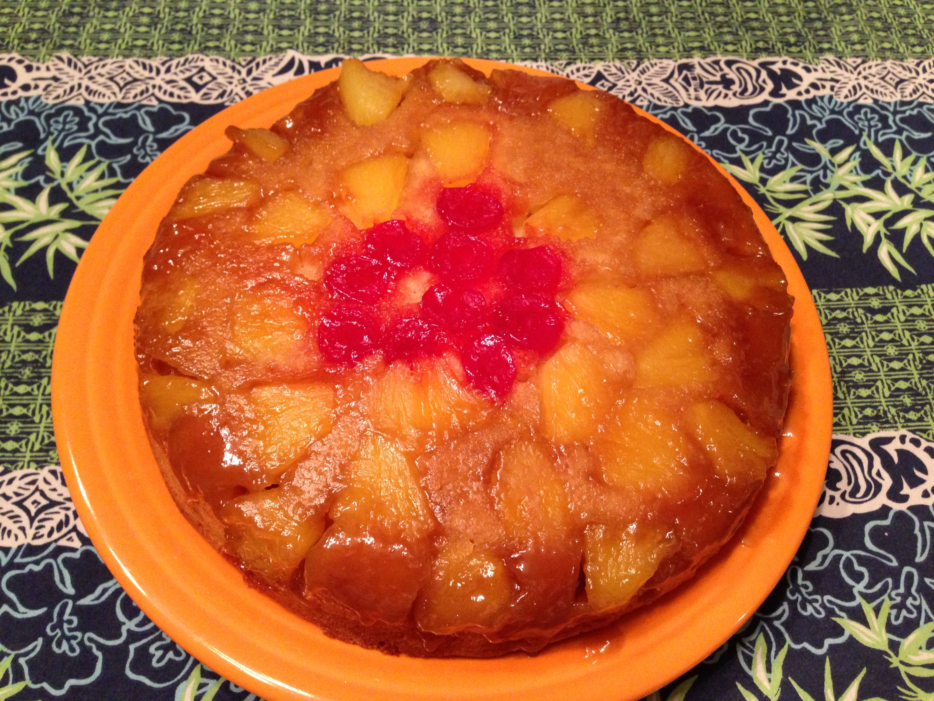 Pineapple Upside Down Cake: Hawaiian Edition